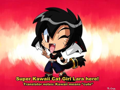 chibi Lara Retro anime