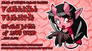 Valentine Velectris fanart contest promotion