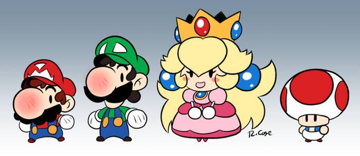 Mario and pals