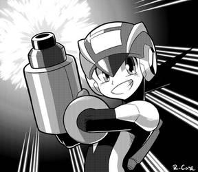 MegaManEXE manga by rongs1234
