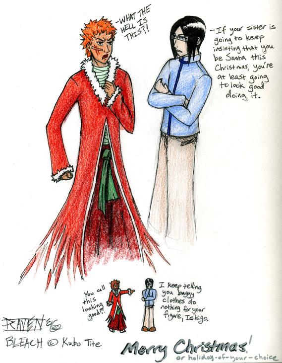 Christmas Bankai by ravenclaw42