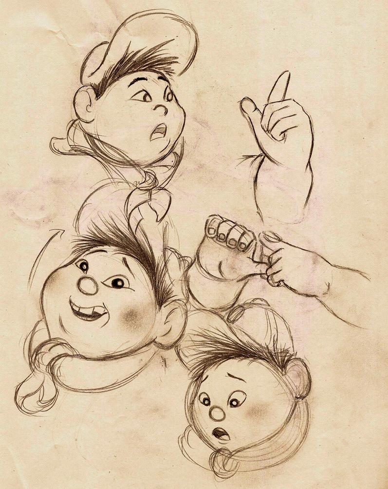 Pixar Coloring Pages