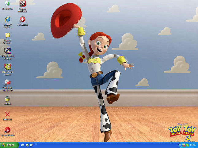 Jessie Desktop by Mitch-el