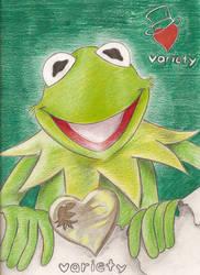 Kermit by Mitch-el
