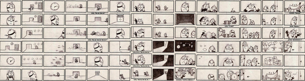 Storyboard - Minions - Page 6 by Mitch-el