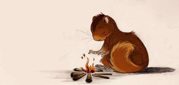 Squirrel Design - 2/3