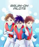 Raijin-oh pilots