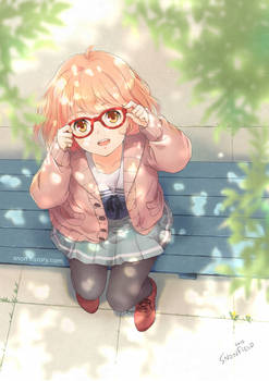 [Fanart] 'Mirai' from 'Beyond The Boundary'