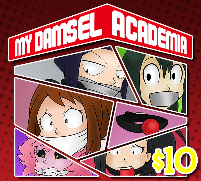 My Damsel Academia by GagManZX