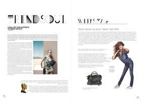 Magazine Layout by awsmkid