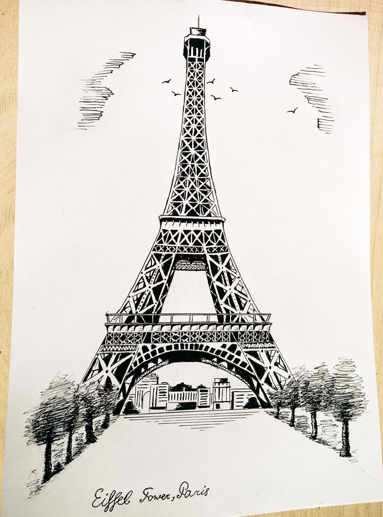 Eiffel tower paris by martynes9n on deviantart eiffel tower paris by martynes9n altavistaventures Choice Image