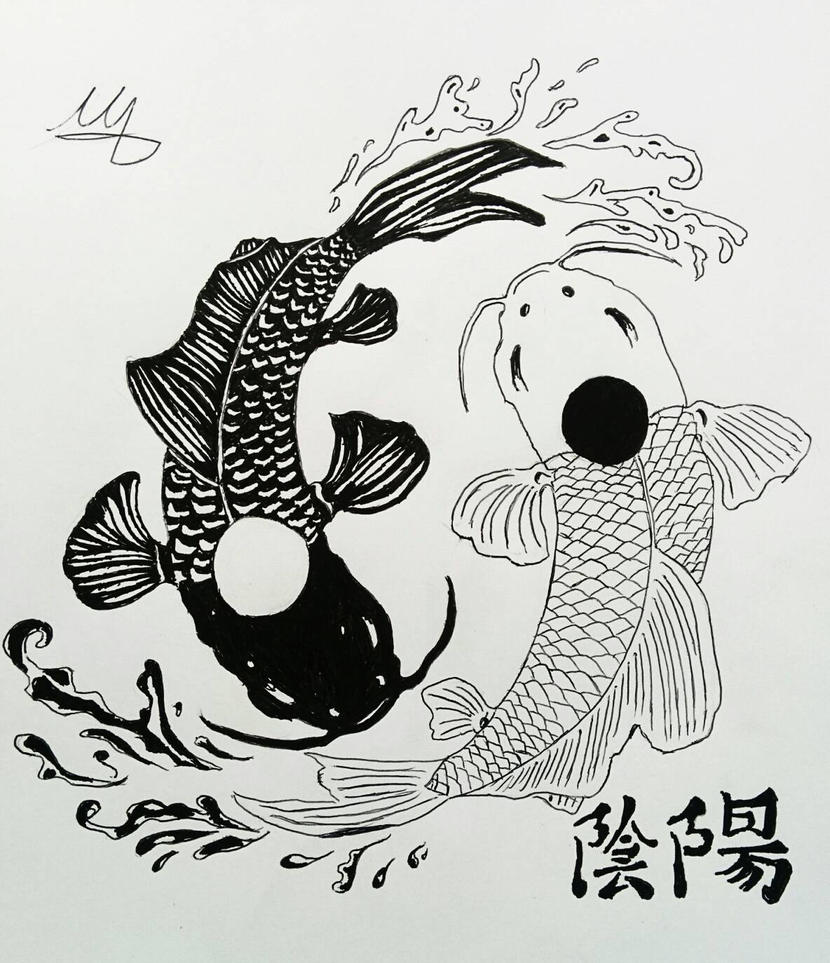 Yin yang koi fish by martynes9n on deviantart yin yang koi fish by martynes9n publicscrutiny Image collections