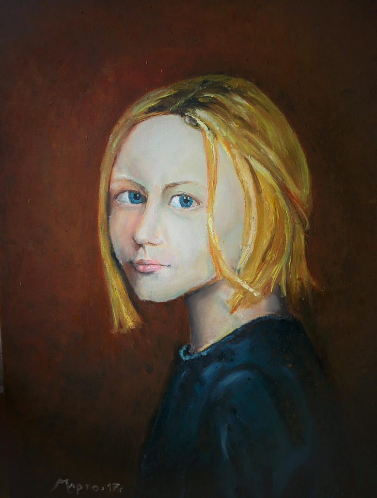 A Girl by Martynes9N