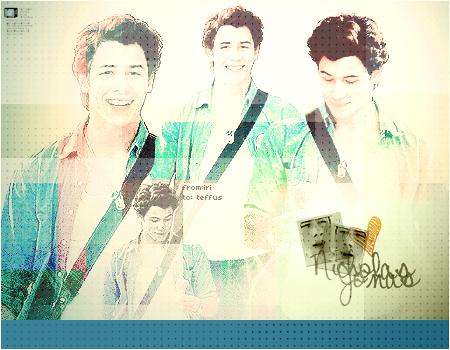 Nick Jonas teffus' gift by iriina