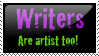 Writers are Artist Too by dolphin-dreamer