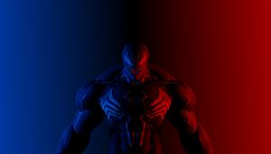 Venom Blue and Red