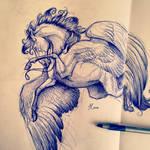 Sarafine Sketch
