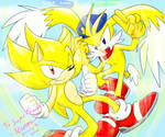 .:AT:. Super Sonic and Klonoa