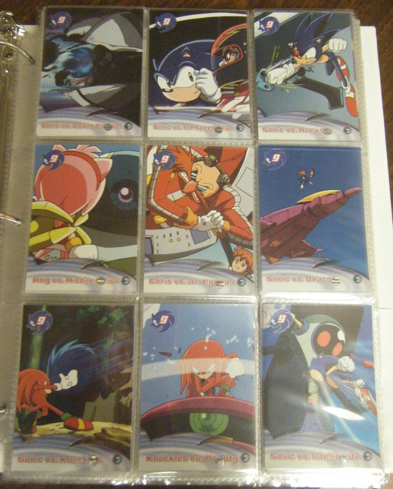 .:Sonic X Cards:.SonicShowdown by SEGAMew
