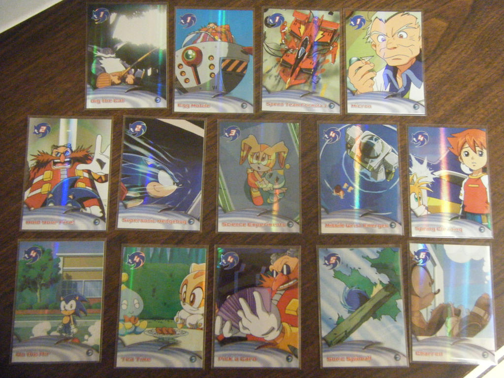 Foils of 1-99 I Can Sell Trade by SEGAMew