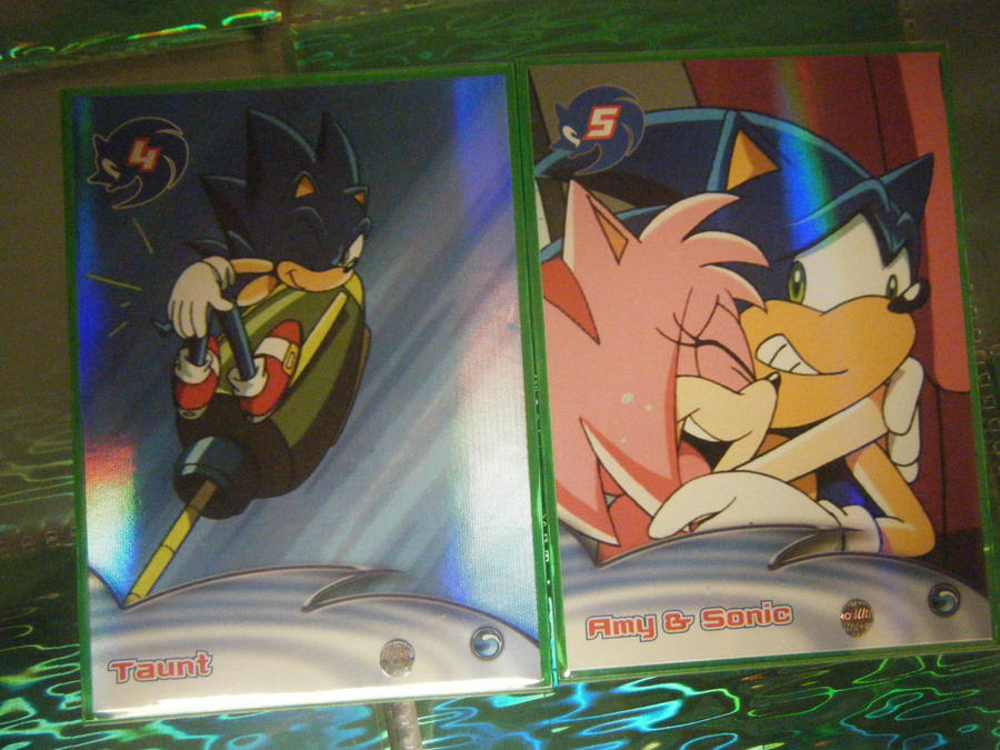 .:Sonic X Cards:. Haha Sonamy by SEGAMew