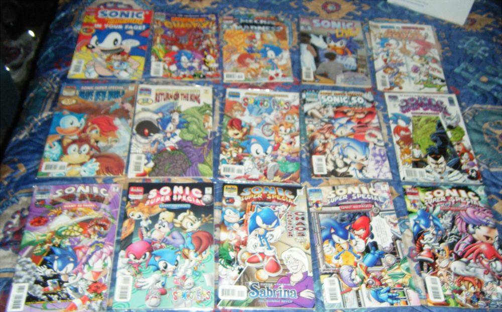 More Sonic Comics to Sell n.3 by SEGAMew
