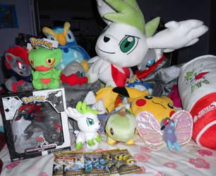 Pokemon plush and card sales by SEGAMew