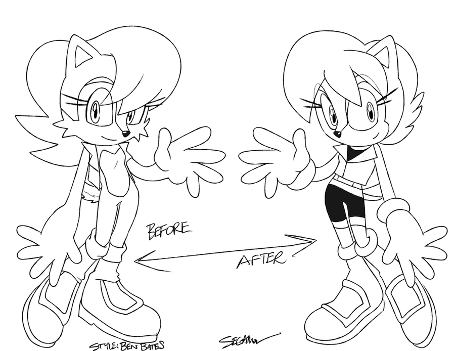 .:Archie:. Improvement? by SEGAMew