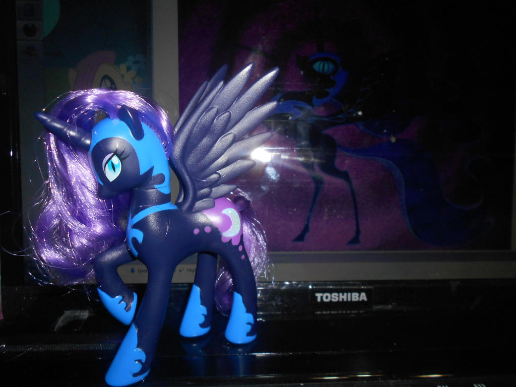 .:Sell:. Nightmare Moon figure by SEGAMew