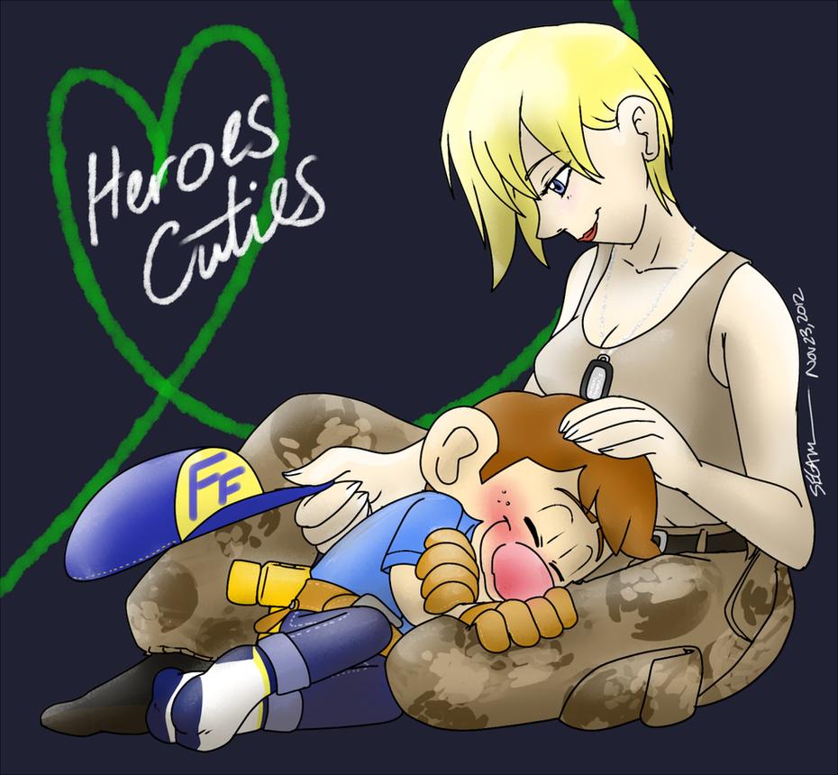 .:Heroes Cuties:. Tacky Socks, Fix-it by SEGAMew