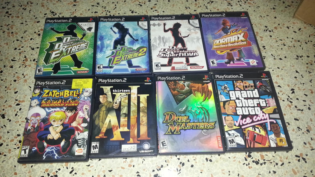 Sell Games For Ps2 : Sell ddr and cheap ps games by segamew on deviantart