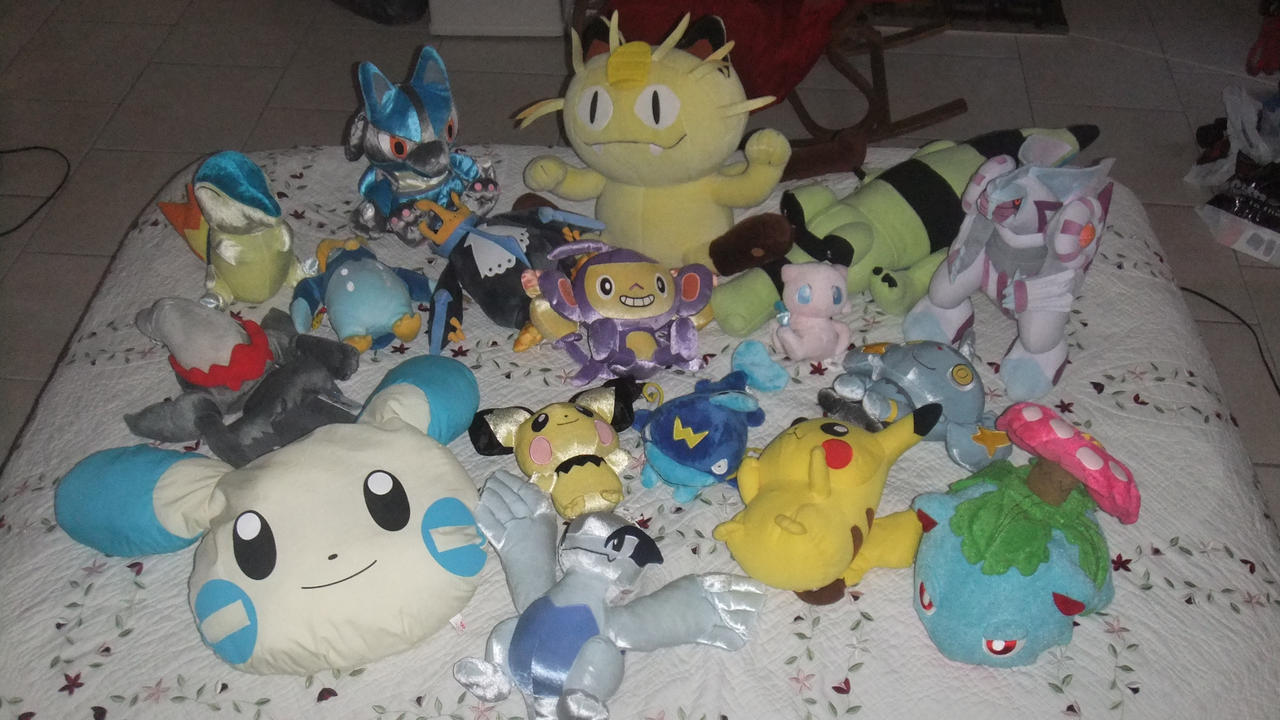 20% OFF SALE! Large Pokemon plush by SEGAMew