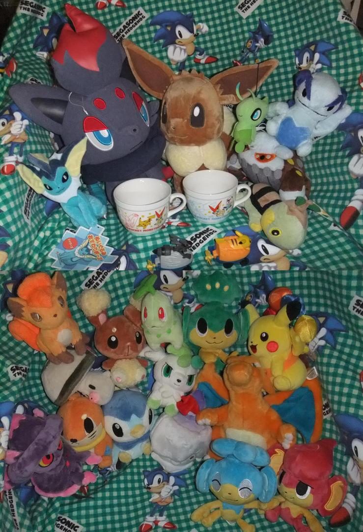 Pokemon Plushies, Pokedolls, and stuff for sale by SEGAMew