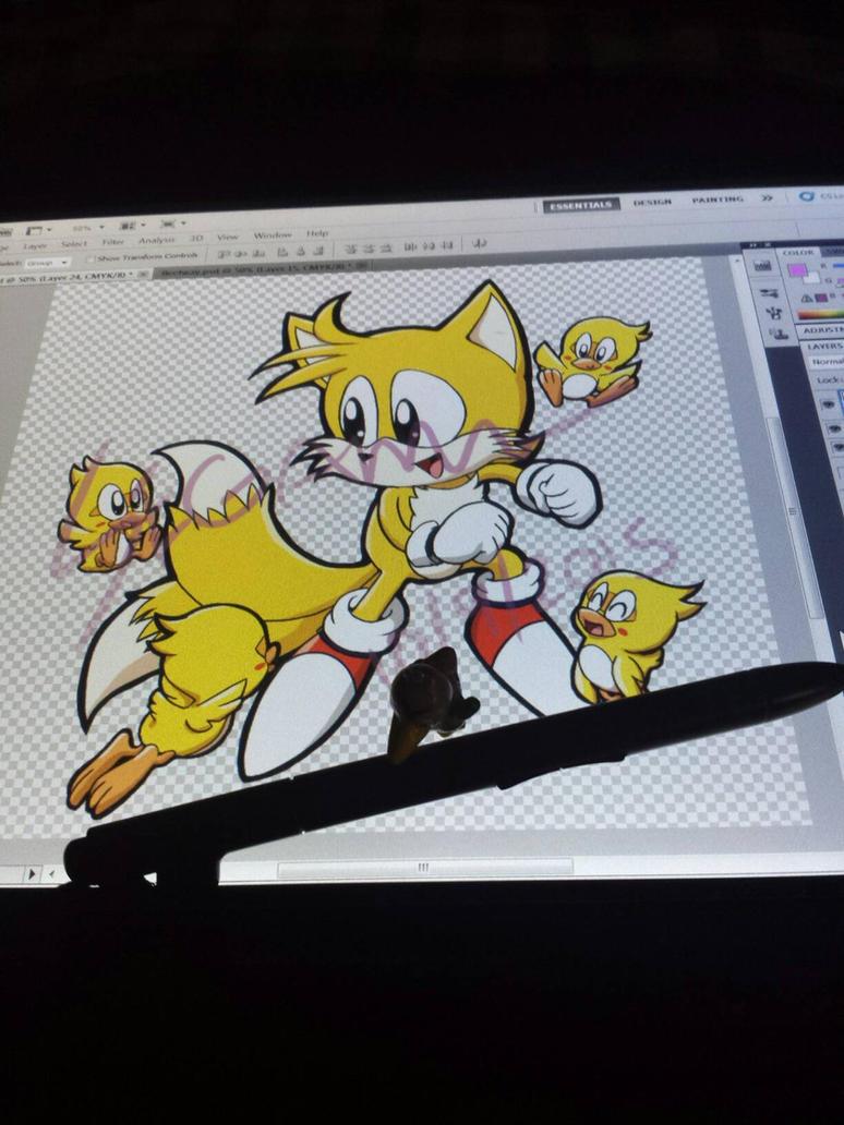 Super Tails by SEGAMew