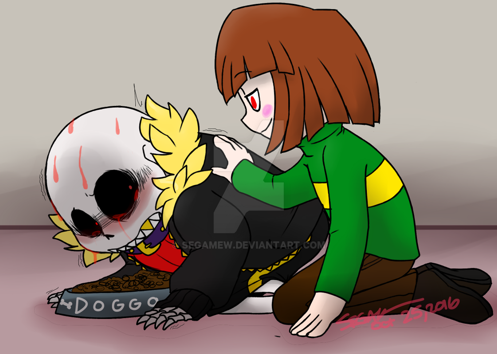 .:UnderFell:. Good Boy by SEGAMew