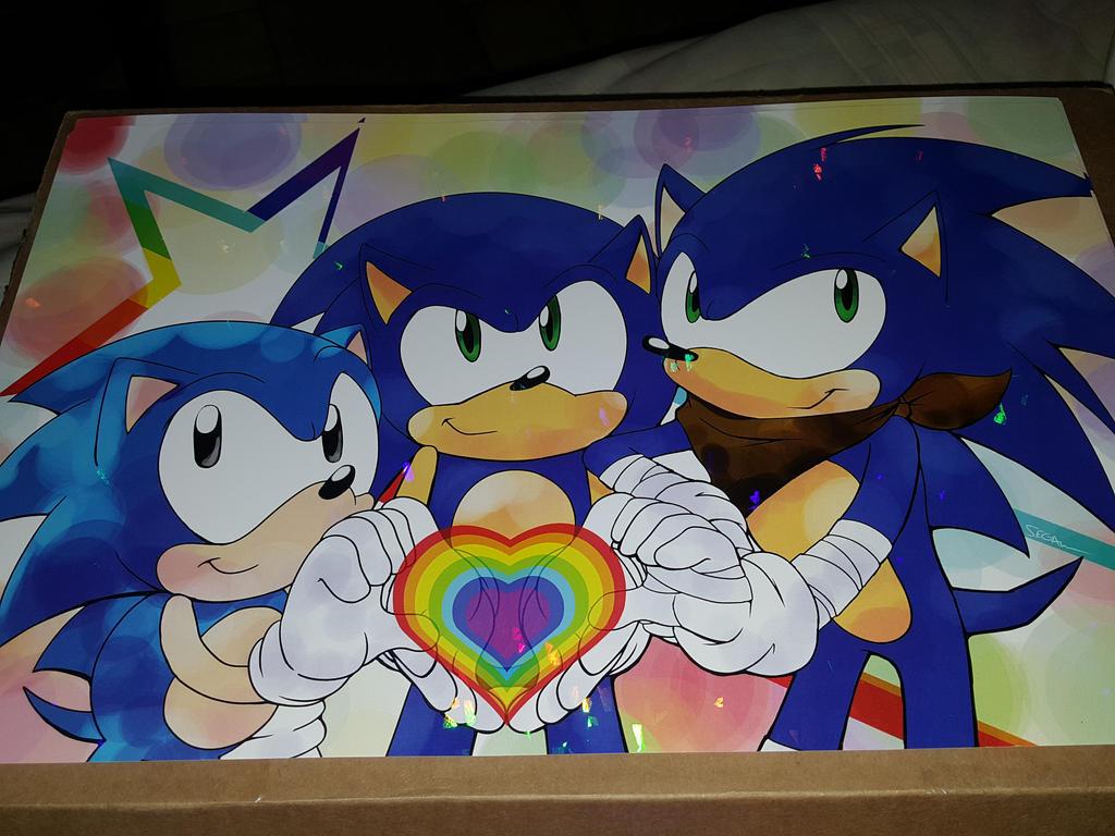 Sonic Pride by SEGAMew