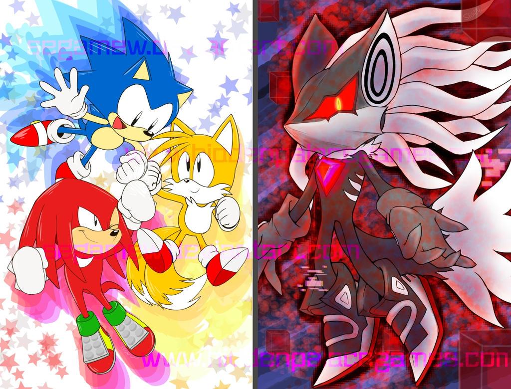 .:Sonic:. MANIA and Infinite Art Print Sale by SEGAMew