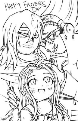 .:BnHA:. Happy Family