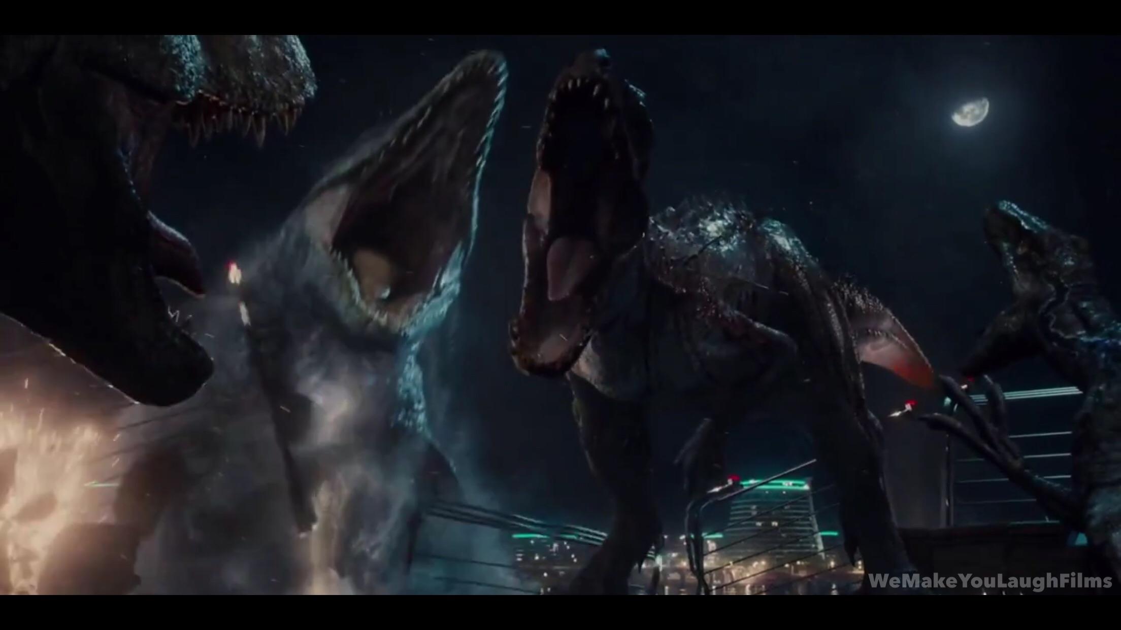Image result for mosasaurus kills indominus rex