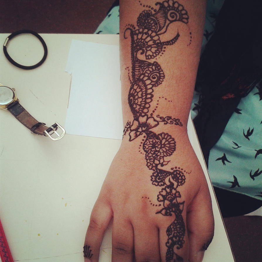 Stage Henna by SAMtheAvenger