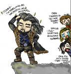 Thorin is feeling majestic...