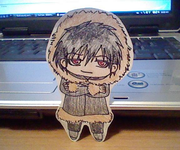 izaya chibi paper doll by hannahperez