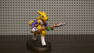 Renamon mini figure by BomzZzik