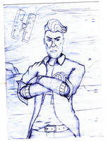 Handsome jack by BomzZzik
