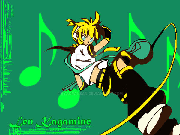 Len Kagamine Coloring Final by SyaoranSan