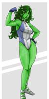 She-Hulk Color