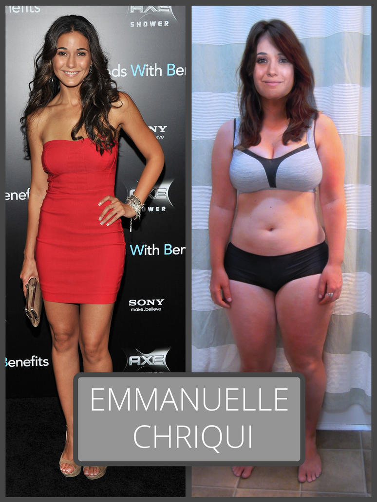 Emmanuelle Chriqui, Before After by Aceit123