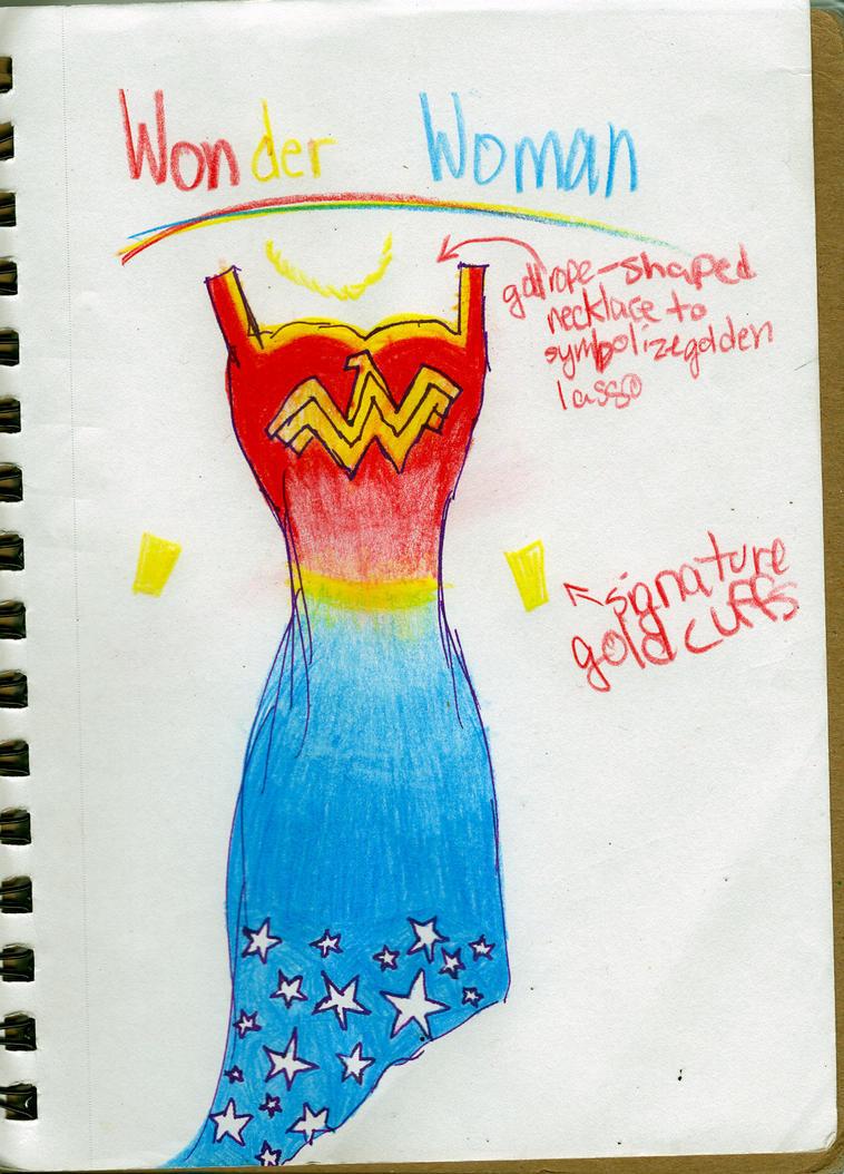 WONDER WOMAN by Onyxmaymay