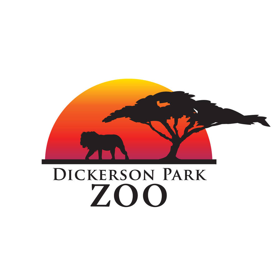 Dickerson Park Zoo Logo by The-Logos
