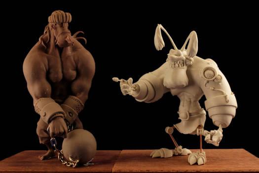 Santos and Mister Bone